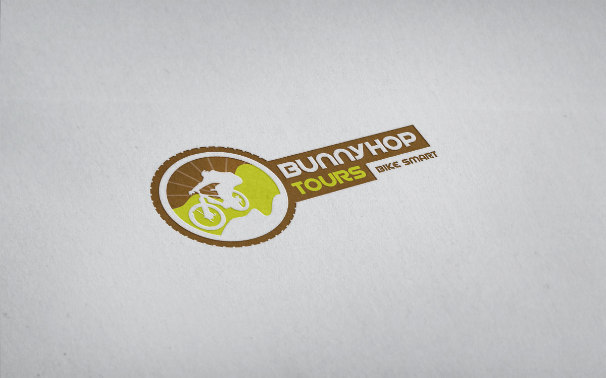 Logodesign BunnyHop Tours