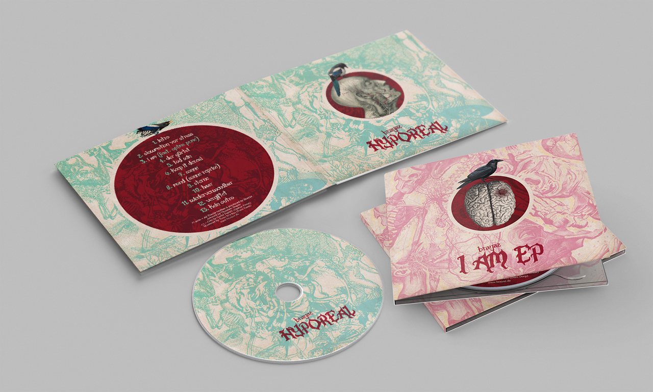 Covergestaltung der CDs für Brayaz