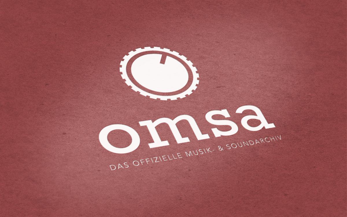Logogestaltung für OMSA
