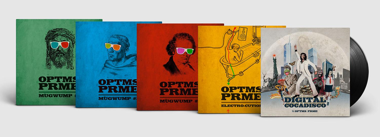 Covergestaltung für OPTMS PRME