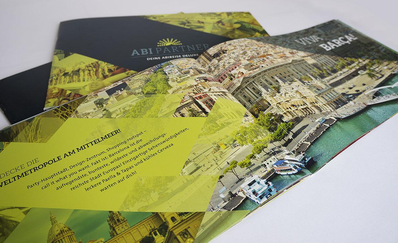 Imagebroschüre für Abipartner