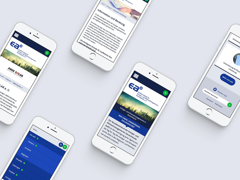 Responsive Webdesign für den EAD