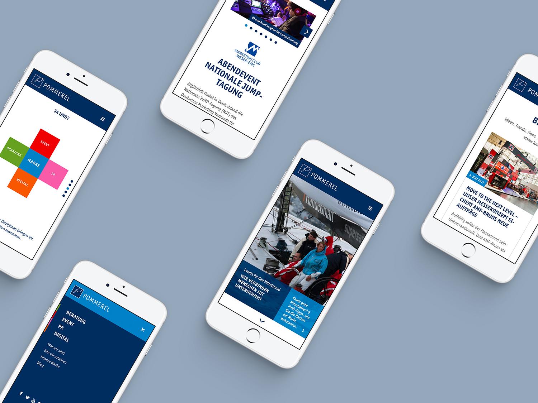 Pommerel Responsive Webdesign